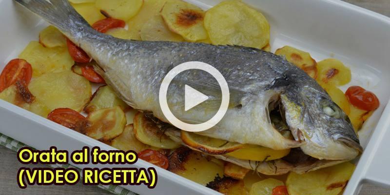 Orata al forno (VIDEO RICETTA)