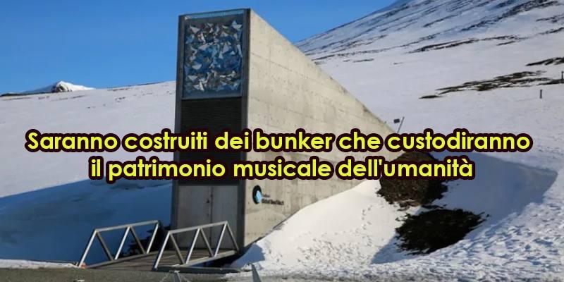 Il bunker sotterraneo che custodirà il patrimonio musicale dell'umanità