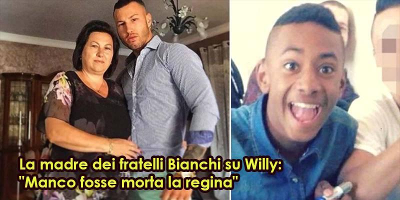 La madre dei fratelli Bianchi su Willy: